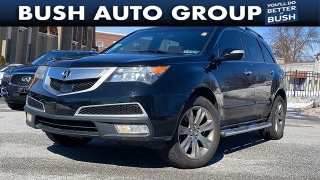 2012 Acura MDX Advance Pkg AWD 4dr Advance Pkg Gas V6 3.7L/224 [1]