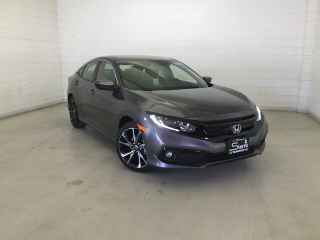 2020 Honda Civic Sedan Sport Sport CVT Regular Unleaded I-4 2.0 L/122 [9]