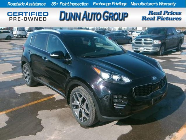 2017 Kia Sportage SX TURBO  Intercooled Turbo Regular Unleaded I-4 2.0 L/122 [9]