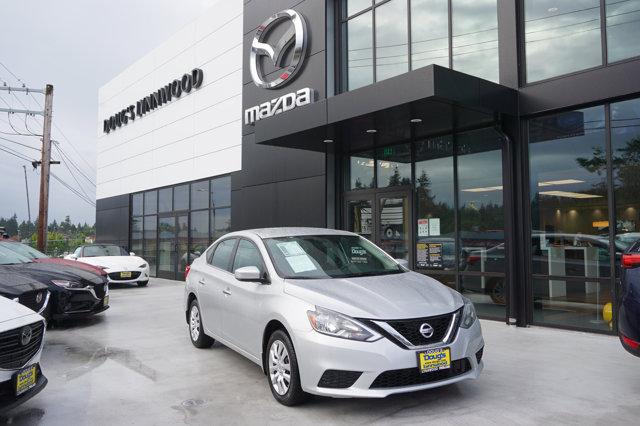 Used 2018 Nissan Sentra in Edmonds Lynnwood Seattle Kirkland Everett, WA
