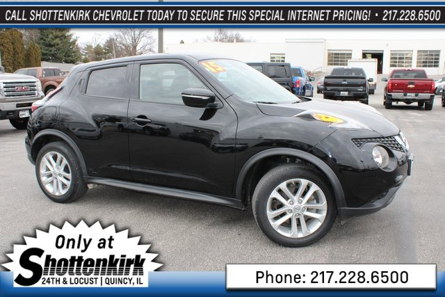 Used 2015 Nissan JUKE in Quincy, IL