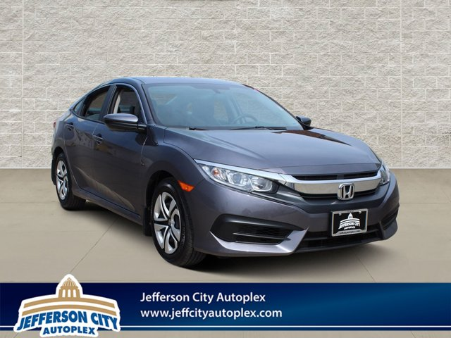 Used 2018 Honda Civic Sedan in Jefferson City, MO