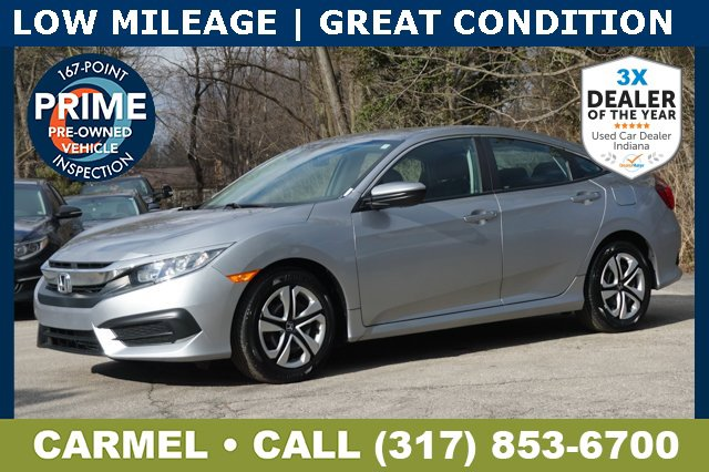 Used 2018 Honda Civic Sedan in Indianapolis, IN