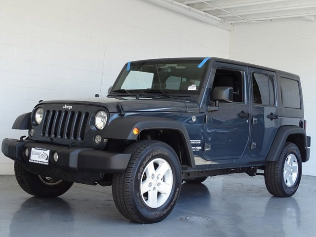 Used 2018 Jeep Wrangler JK Unlimited in San Diego, CA