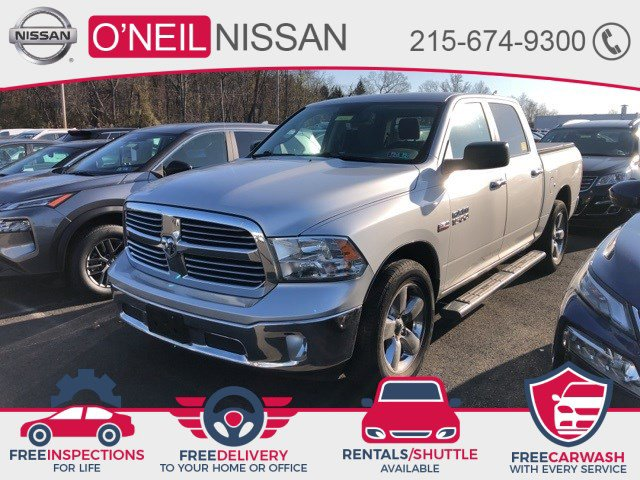 2015 Ram 1500 Big Horn 4WD Crew Cab 140.5″ Big Horn Regular Unleaded V-8 5.7 L/345 [0]