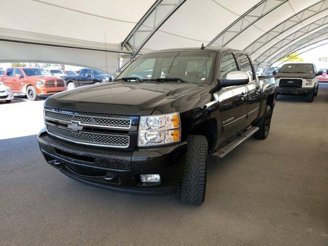 """2013 Chevrolet Silverado 1500 LTZ 4WD Crew Cab 143.5"""" LTZ Gas/Ethanol V8 6.2L/378 [16]"""