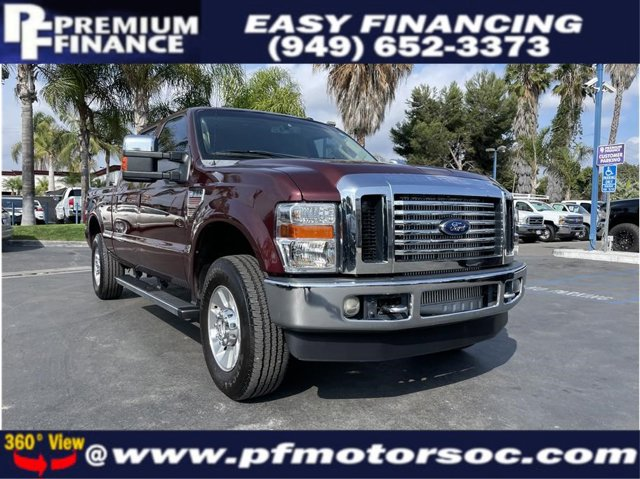 2010 Ford Super Duty F-250 SRW LARIAT 4X4 DIESEL BACK UP CAM LEATHER CLEAN