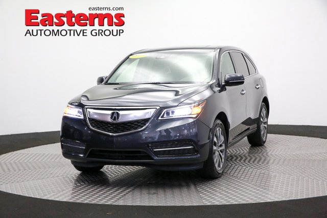 2016 Acura MDX Technology Sport Utility