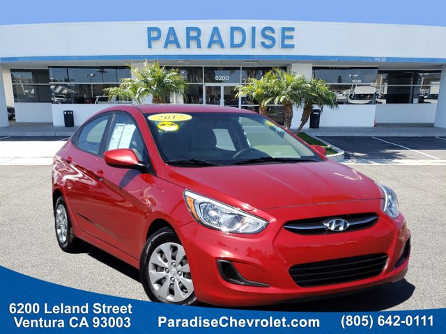 2017 Hyundai Accent SE SE Sedan Auto Regular Unleaded I-4 1.6 L/97 [0]