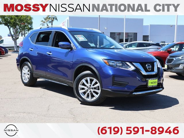 2019 Nissan Rogue SV AWD SV Regular Unleaded I-4 2.5 L/152 [0]