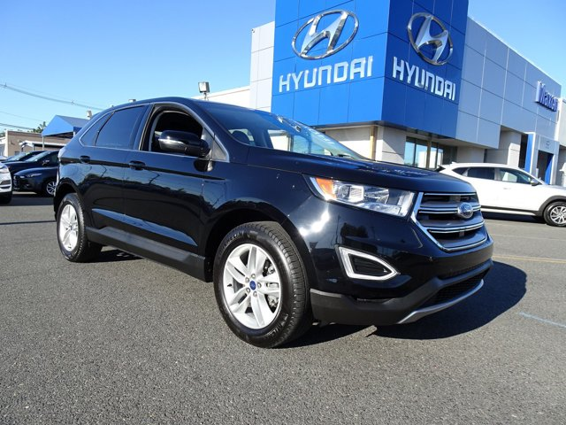 2017 Ford Edge SEL EQUIPMENT GROUP 201A SHADOW BLACK TRANSMISSION 6-SPEED AUTOMATIC WSELECTSHIF