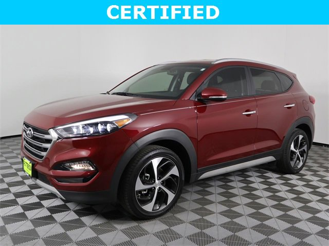 2018 Hyundai Tucson Limited Limited FWD Intercooled Turbo Regular Unleaded I-4 1.6 L/97 [14]