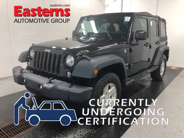 2017 Jeep Wrangler Unlimited Sport Convertible