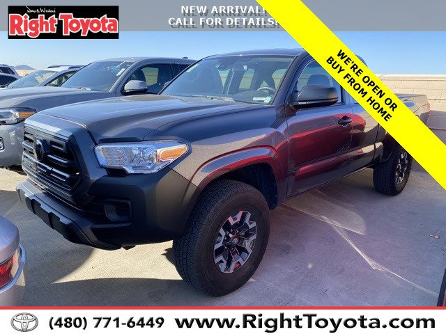 2018 Toyota Tacoma SR SR Access Cab 6′ Bed I4 4x2 AT Regular Unleaded I-4 2.7 L/164 [0]