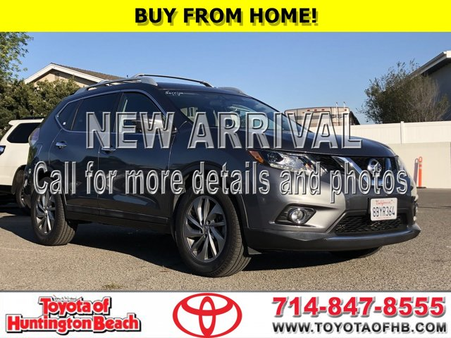 2015 Nissan Rogue SL FWD 4dr SL Regular Unleaded I-4 2.5 L/152 [3]