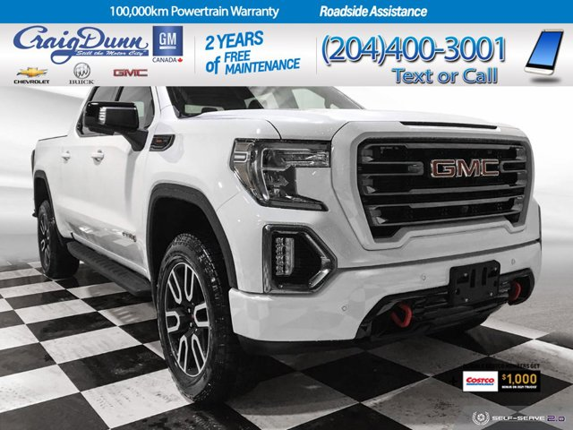 2021 GMC Sierra 1500 AT4 4WD Crew Cab 147″ AT4 Gas V8 6.2L/376 [12]