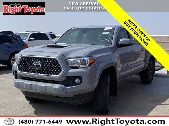 2019 Toyota Tacoma TRD Sport TRD Sport Double Cab 5′ Bed V6 AT Regular Unleaded V-6 3.5 L/211 [7]