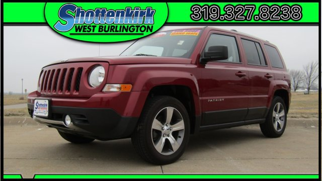 Used 2016 Jeep Patriot in West Burlington, IA