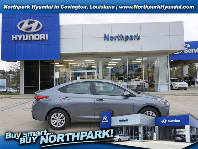 New 2019 Hyundai Accent in Covington, LA