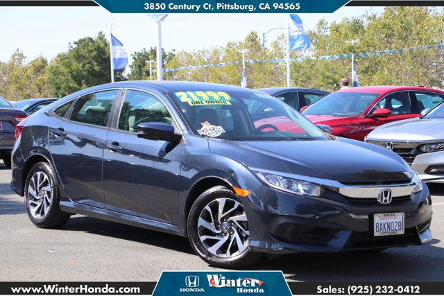 2017 Honda Civic Sedan EX EX CVT Regular Unleaded I-4 2.0 L/122 [15]