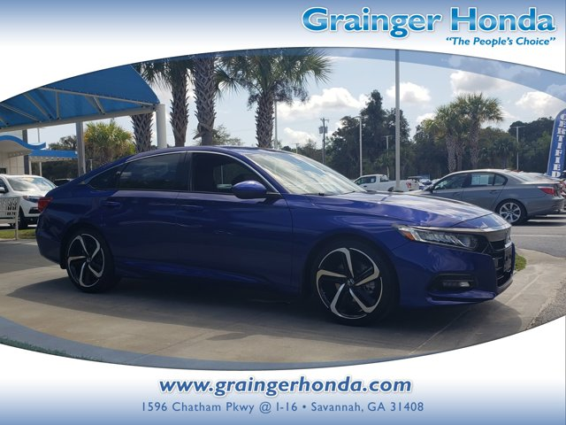 Used 2018 Honda Accord Sedan in Savannah, GA