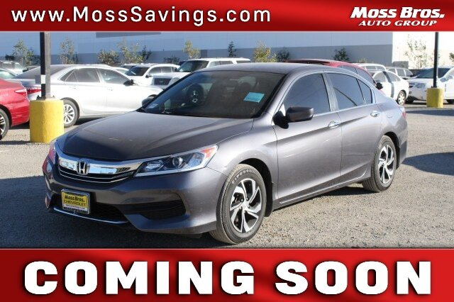 2017 Honda Accord Sedan LX LX CVT Regular Unleaded I-4 2.4 L/144 [7]