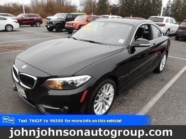 2016 BMW 2 Series 228i Turbocharged Rear Wheel Drive Power Steering ABS 4-Wheel Disc Brakes Br