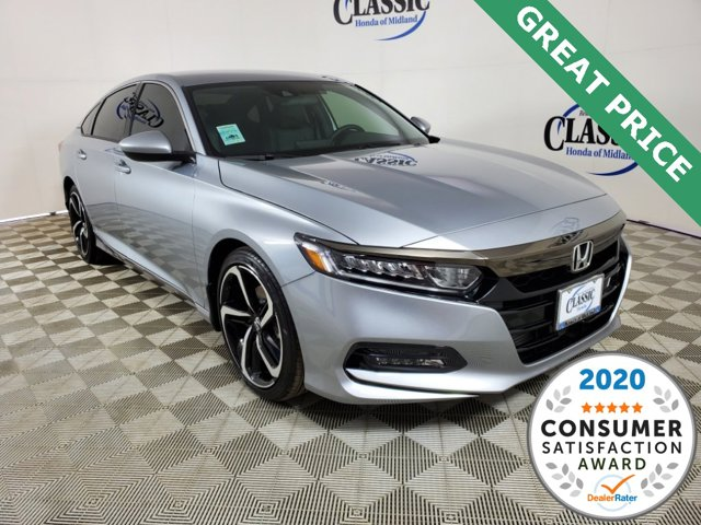 New 2020 Honda Accord Sedan in Midland, TX