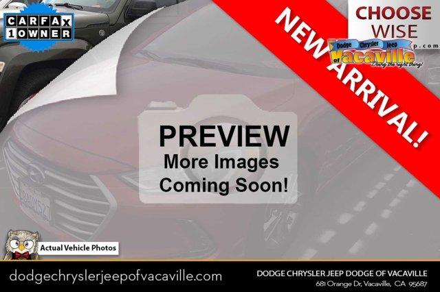 2017 Hyundai Elantra SE SE 2.0L Auto (Alabama) *Ltd Avail* Regular Unleaded I-4 2.0 L/122 [19]