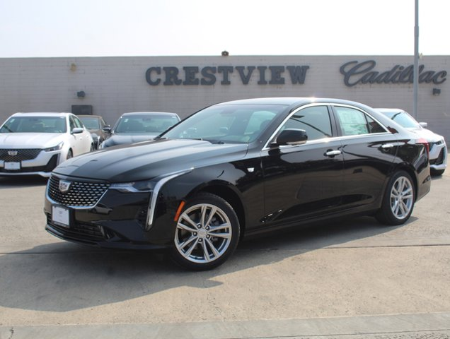 2020 Cadillac CT4 Luxury 4dr Sdn Luxury Turbocharged I4 2.0L/ [3]
