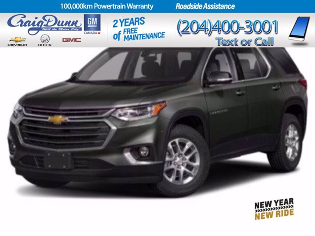 2021 Chevrolet Traverse LT Cloth AWD 4dr LT Cloth w/1LT Gas V6 3.6L/ [1]