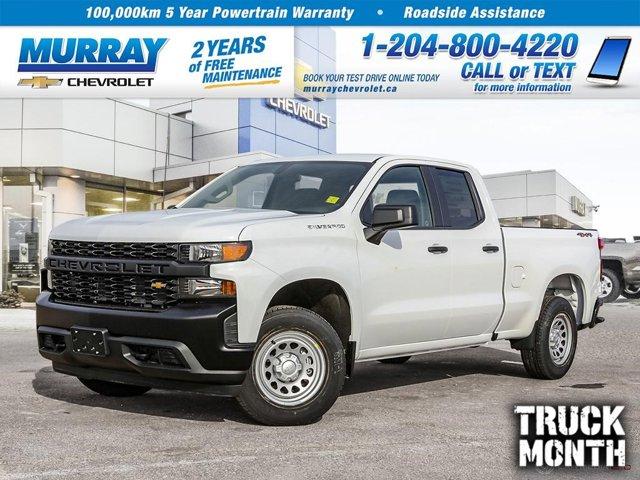 "2021 Chevrolet Silverado 1500 Work Truck 4WD Double Cab 147"" Work Truck Gas V8 5.3L/325 [0]"