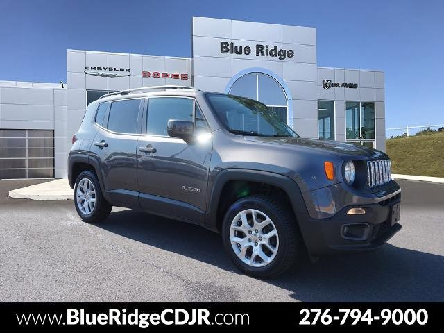 2017 Jeep Renegade Latitude Latitude 4x4 Regular Unleaded I-4 2.4 L/144 [1]