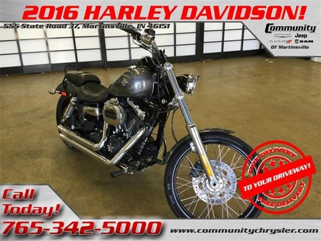 Used 2016 Harley-Davidson Wide Glide in Bloomington, IN
