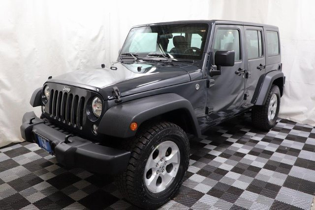 Used 2016 Jeep Wrangler Unlimited in Akron, OH