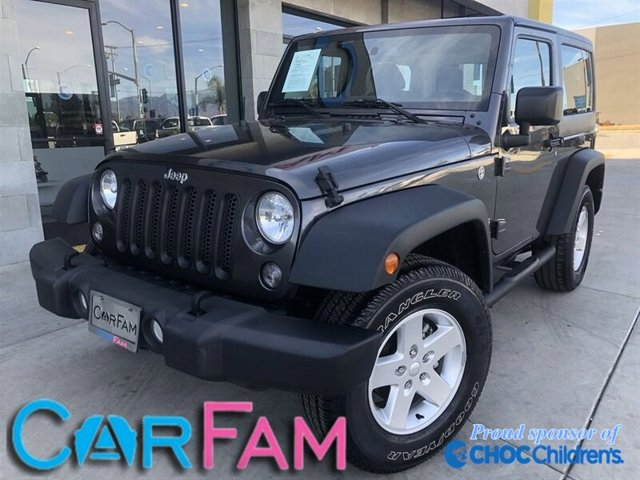 Used 2017 Jeep Wrangler in Rialto, CA