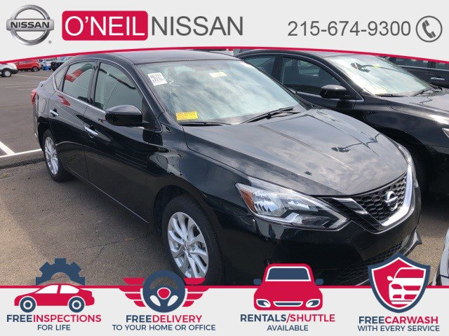 2019 Nissan Sentra SV SV CVT Regular Unleaded I-4 1.8 L/110 [1]