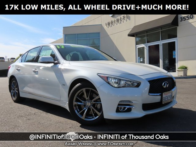 2017 INFINITI Q50 3.0t Signature Edition 3.0t Signature Edition AWD Twin Turbo Premium Unleaded V-6 3.0 L/183 [9]