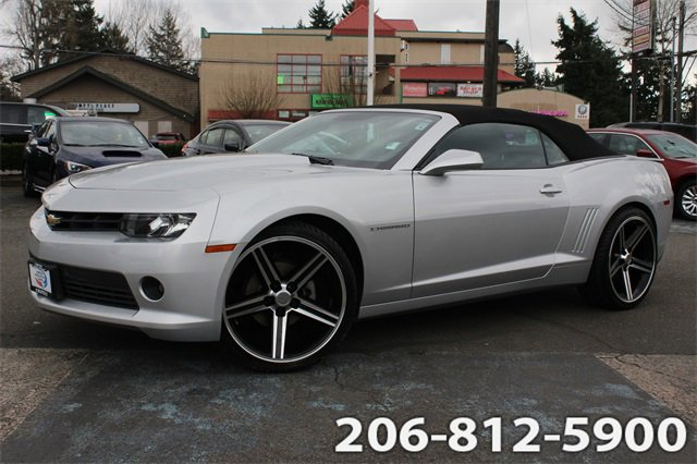 Used 2015 Chevrolet Camaro in Seattle, WA