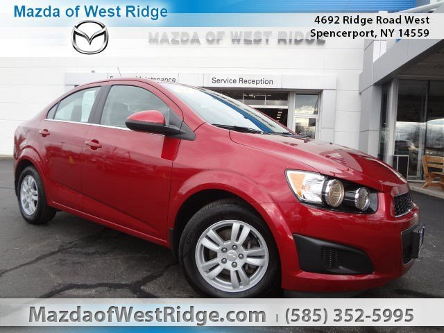 2015 Chevrolet Sonic at Transitowne Resale Center of Amherst