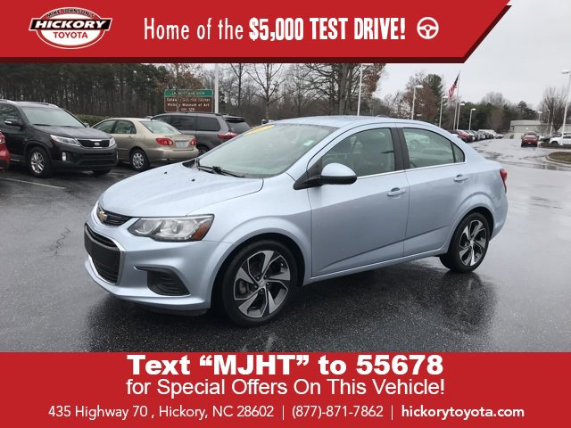 Used 2017 Chevrolet Sonic in Hickory, NC