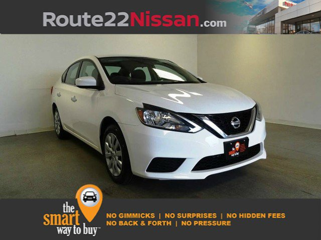 2017 Nissan Sentra S S CVT Regular Unleaded I-4 1.8 L/110 [8]