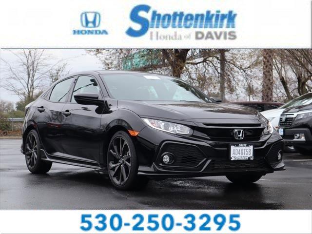 Used 2018 Honda Civic Hatchback in Davis, CA