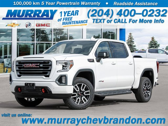 2021 GMC Sierra 1500 AT4 4WD Crew Cab 147″ AT4 Gas V8 6.2L/376 [18]
