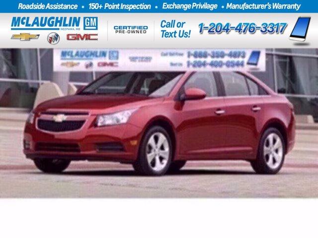 2014 Chevrolet Cruze 1LT 4dr Sdn 1LT Turbocharged Gas I4 1.4L/83 [2]