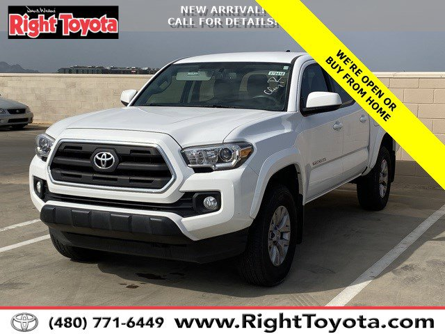 2017 Toyota Tacoma SR5 SR5 Double Cab 5′ Bed V6 4x2 AT Regular Unleaded V-6 3.5 L/211 [3]