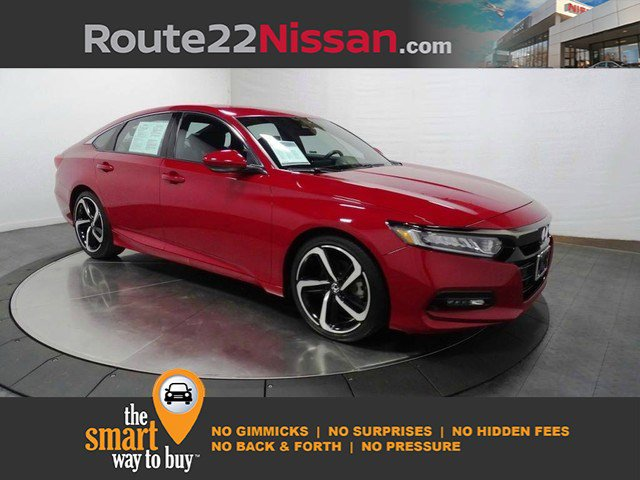 2018 Honda Accord Sedan Sport 1.5T Sport 1.5T CVT Intercooled Turbo Regular Unleaded I-4 1.5 L/91 [14]