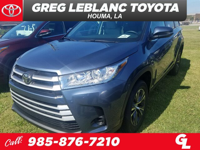 New 2019 Toyota Highlander in Houma, LA