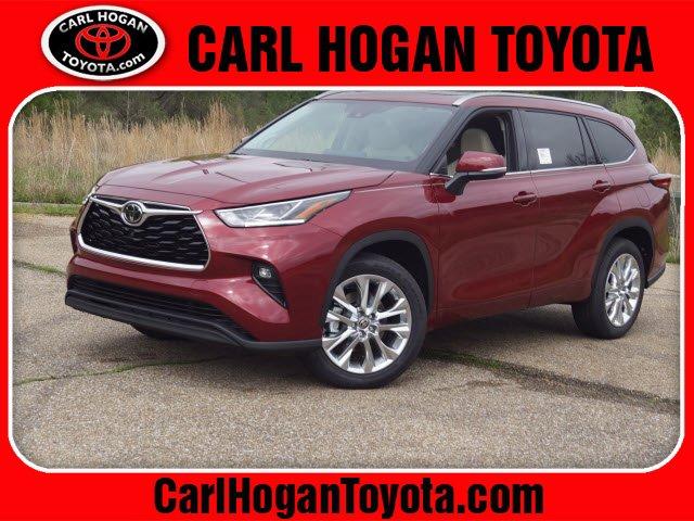 New 2020 Toyota Highlander in Columbus, MS
