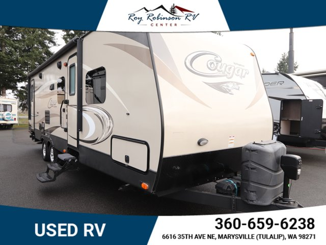 2016 KEYSTONE COUGAR TRAVEL TRAILER